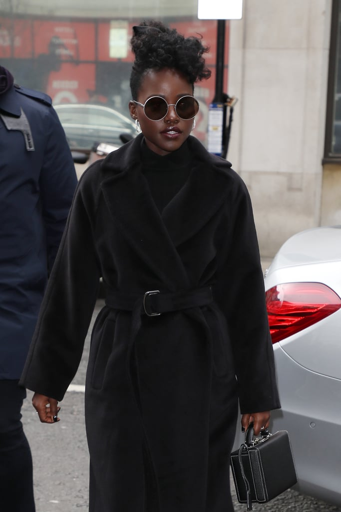 Lupita Nyong'o Yellow Contacts Lenses