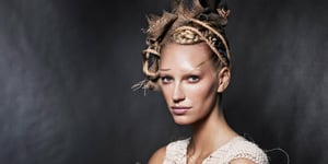 Exclusive! The District 9 Look From CoverGirl's Hunger Games Collection
