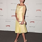 Kate Bosworth stunned in a lemon yellow Erdem dress at the LACMA Art + Film Gala in 2011.