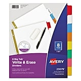 Avery Write & Erase Big Tab Paper Dividers