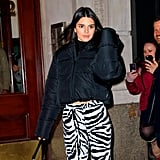 Kendall Jenner Spotted During NYFW