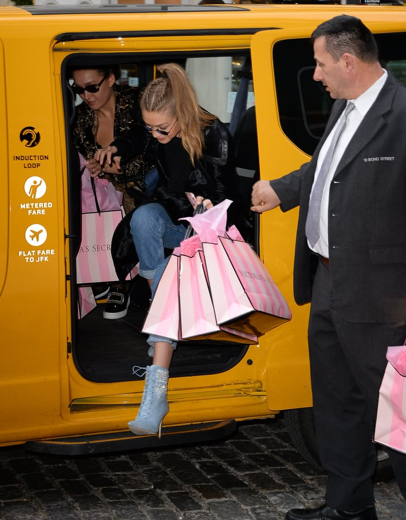 She Went on a Shopping Trip to Victoria's Secret