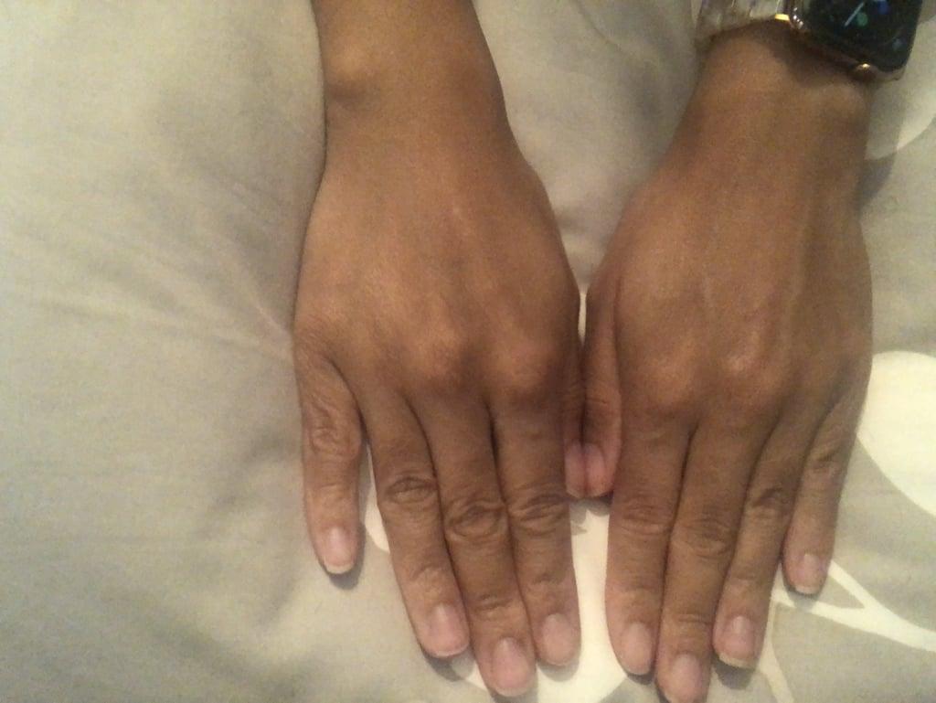 How Fenty Skin Hydra Vizor Looks on Skin *Without* Flash