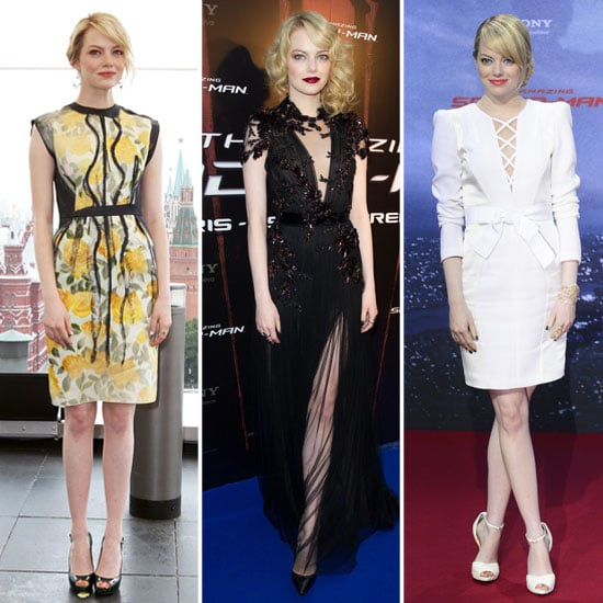 See Emma Stone's Spider-Man Press Tour Wardrobe: Every Red Carpet Look Is a Winner! See Her Latest LWD Look in Berlin