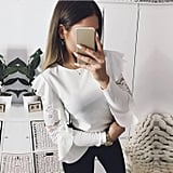 Topunder Long-Sleeved Blouse