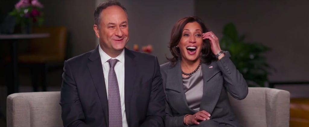 Kamala Harris, Doug Emhoff on CBS Sunday Morning | Video