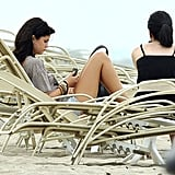 Selena Gomez Treats Herself to Some R&R on the Beach