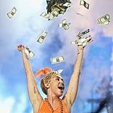 Miley Cyrus performed her Bangerz concert in Melbourne, Australia, on Friday.