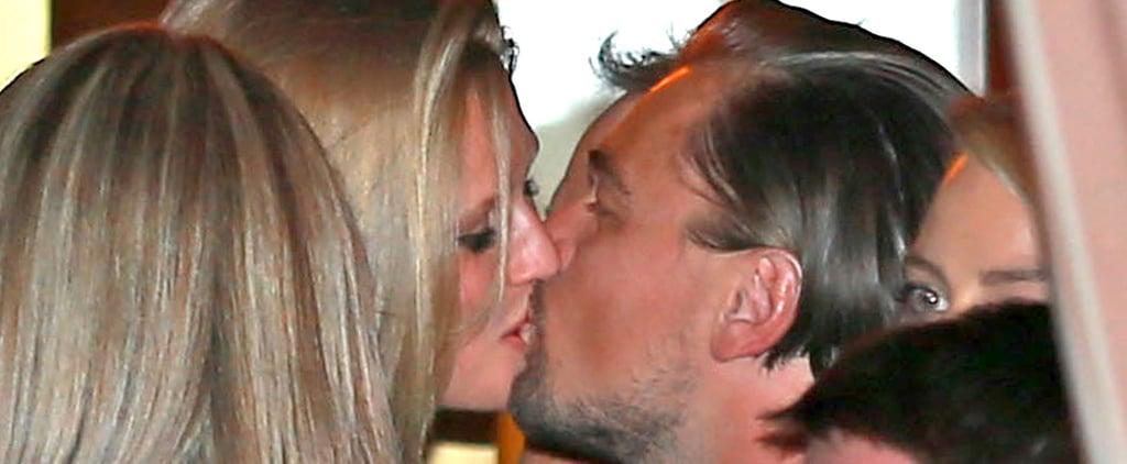 Leonardo DiCaprio Kissing Toni Garrn