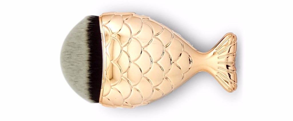 """This Adorable """"Frushy"""" Makeup Brush Is About to Swim Into Your Heart"""