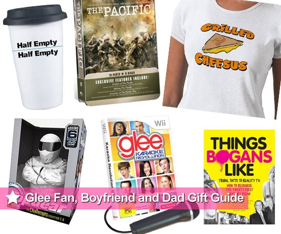 christmas present and gift ideas for glee fans boyfriends and dads