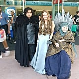 Jon Snow, Margaery Tyrell, and Olenna Tyrell — Game of Thrones