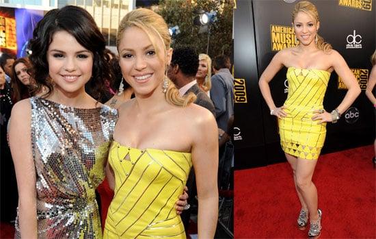 Photos of Shakira, Selena AMAs