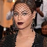 Beyoncé's Vampy Lip in 2014