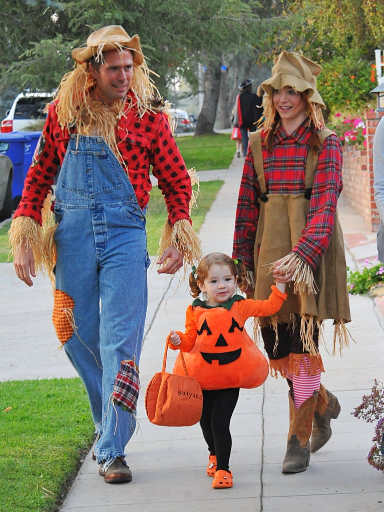Scarecrows and Pumpkin