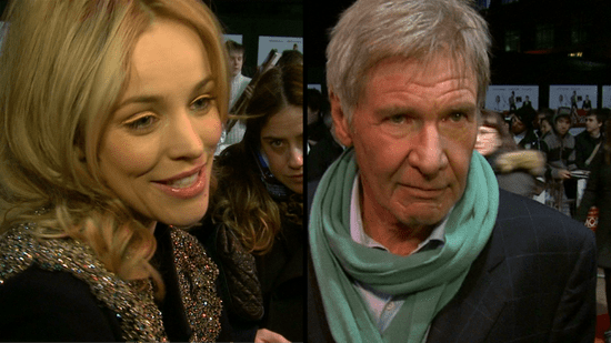 Video of Rachel McAdams at the Morning Glory Premiere in London Talking About Harrison Ford