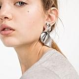 Zara Twisted Effect Earrings ($20)