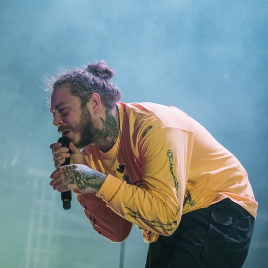 Post Malone Haircut 2018
