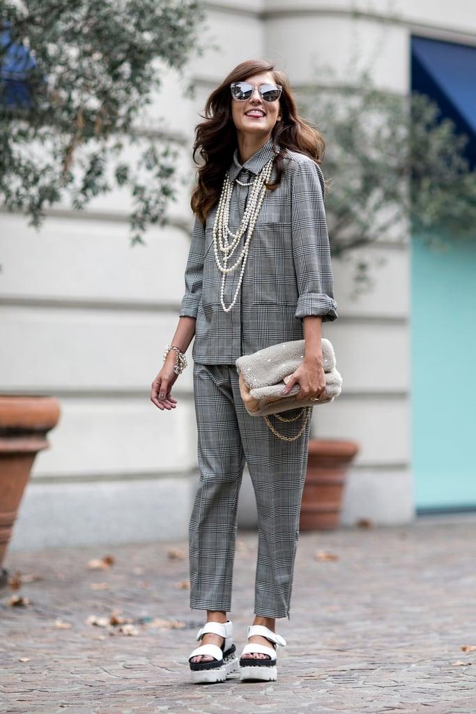 Street Style Trends At Fashion Week Spring 2015 Popsugar Fashion
