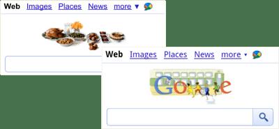 Google Mobile Doodles