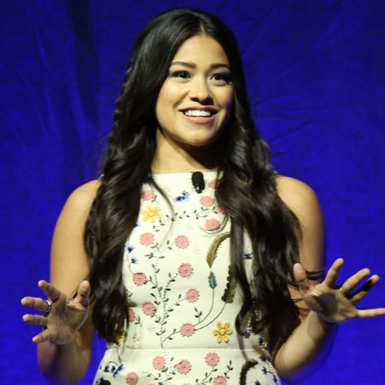 Gina Rodriguez's Haircut April 2016