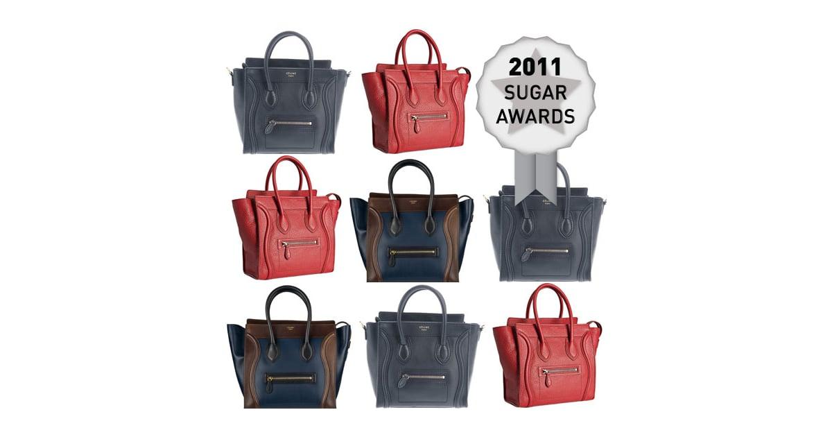 3d8c846e86c5 Celine s Luggage Tote Wins the Sugar Award for Best Designer Bag of 2011!