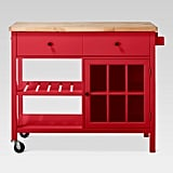 Windham Wood-Top Kitchen Island