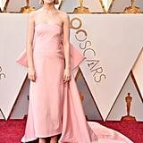 Saoirse Ronan at the 2018 Academy Awards