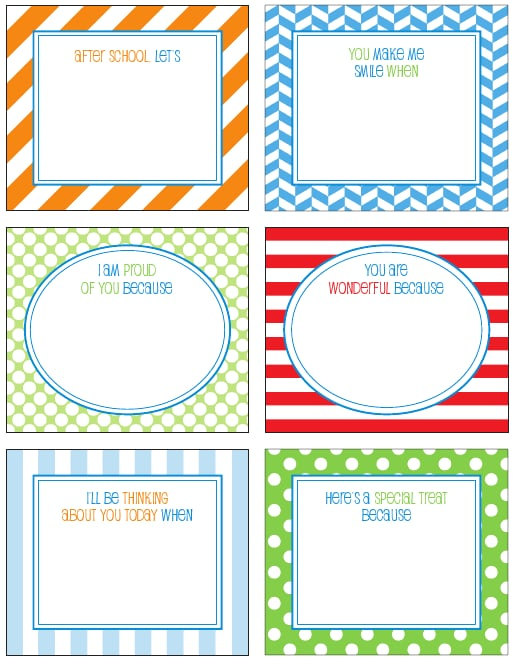 Lunch Box Notes For Kids | POPSUGAR Moms