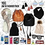 Young Designers Collective Showbag ($25) Includes:  Bucket bag  Scarf  Tassel earrings