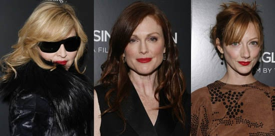Trend Alert: Madonna and Julianne Moore Wear Creamy Red Lipstick