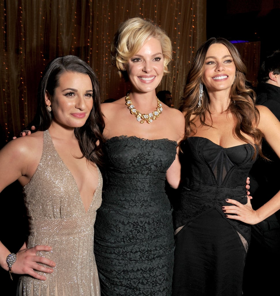Lea Michele, Katherine Heigl, and Sofia Vergara partied together at the Grand Ballroom in LA.