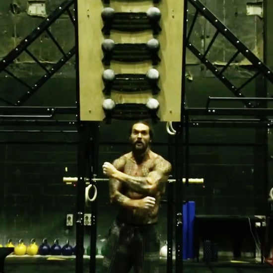 Jason Momoa Climbing Wall Video