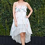 Rachel Bilson, in Chanel, at the Natural Resources Defense Council's A Celebration of Art, Nature, and Technology dinner, hosted by Chanel. Source: Koury Angelo/BFAnyc.com