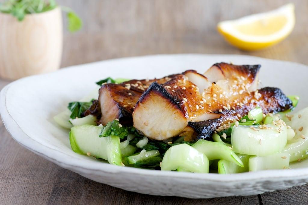 Miso-Glazed Black Cod With Sesame Bok Choy