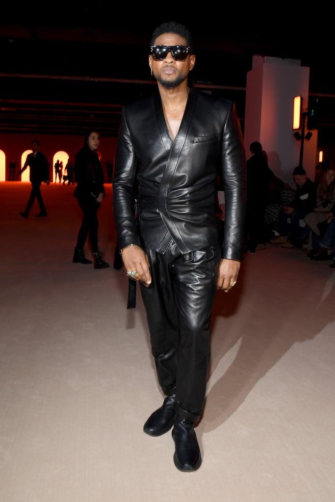 Usher at the Balmain Fall 2020 Show