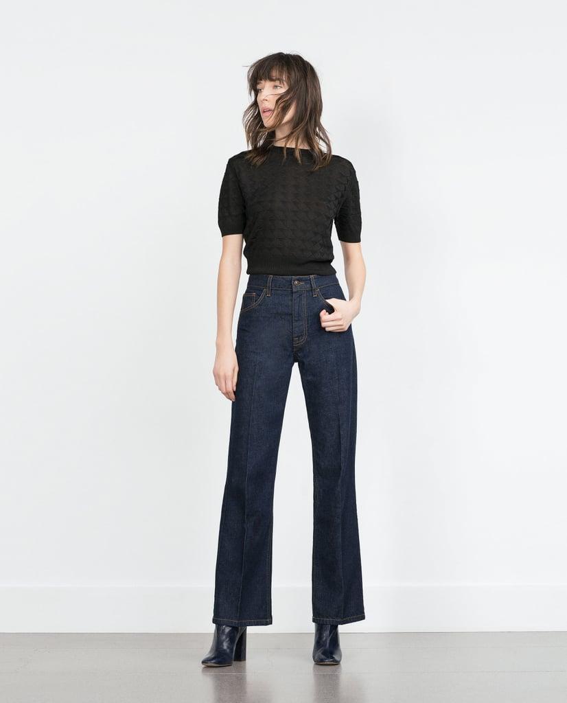 Skinny bootcut jeans zara
