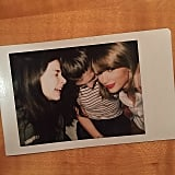 Taylor Swift and Calvin Harris's Instagrams