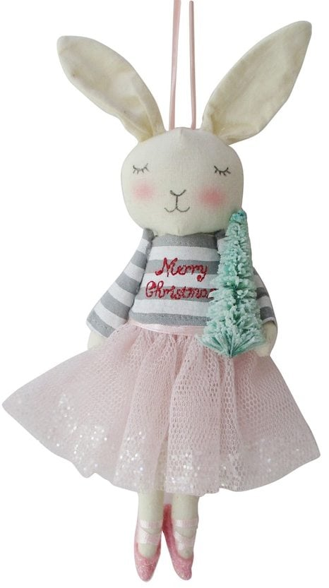 lauren conrad ballerina bunny christmas ornament