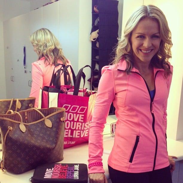 Gym Bag Lorna Jane: Lorna Jane Before Her Chat With Karl And Lisa On The Today