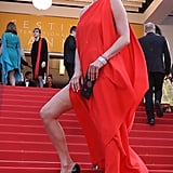 And Kate Worked the Side Slit on Her Vintage Halston Gown