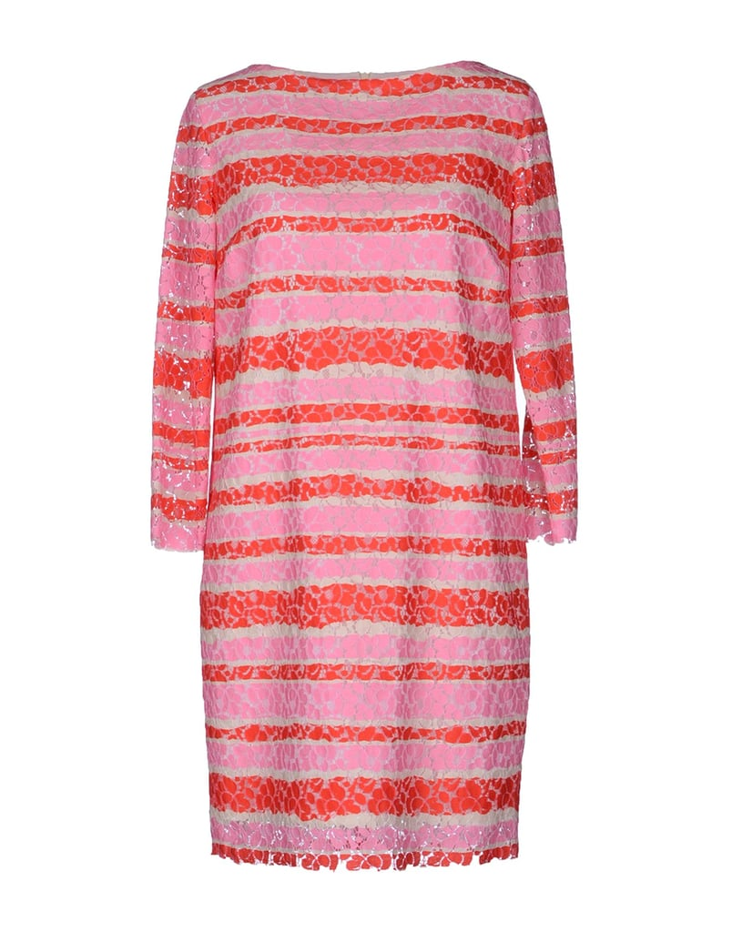 There's no better feeling than stepping into Spring and Summer with a brand-new party dress. For us, it doesn't get better than this striped pink and orange MSGM pick ($370).