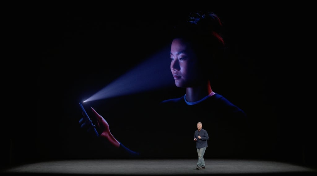 Face ID will learn your face — even if it changes.