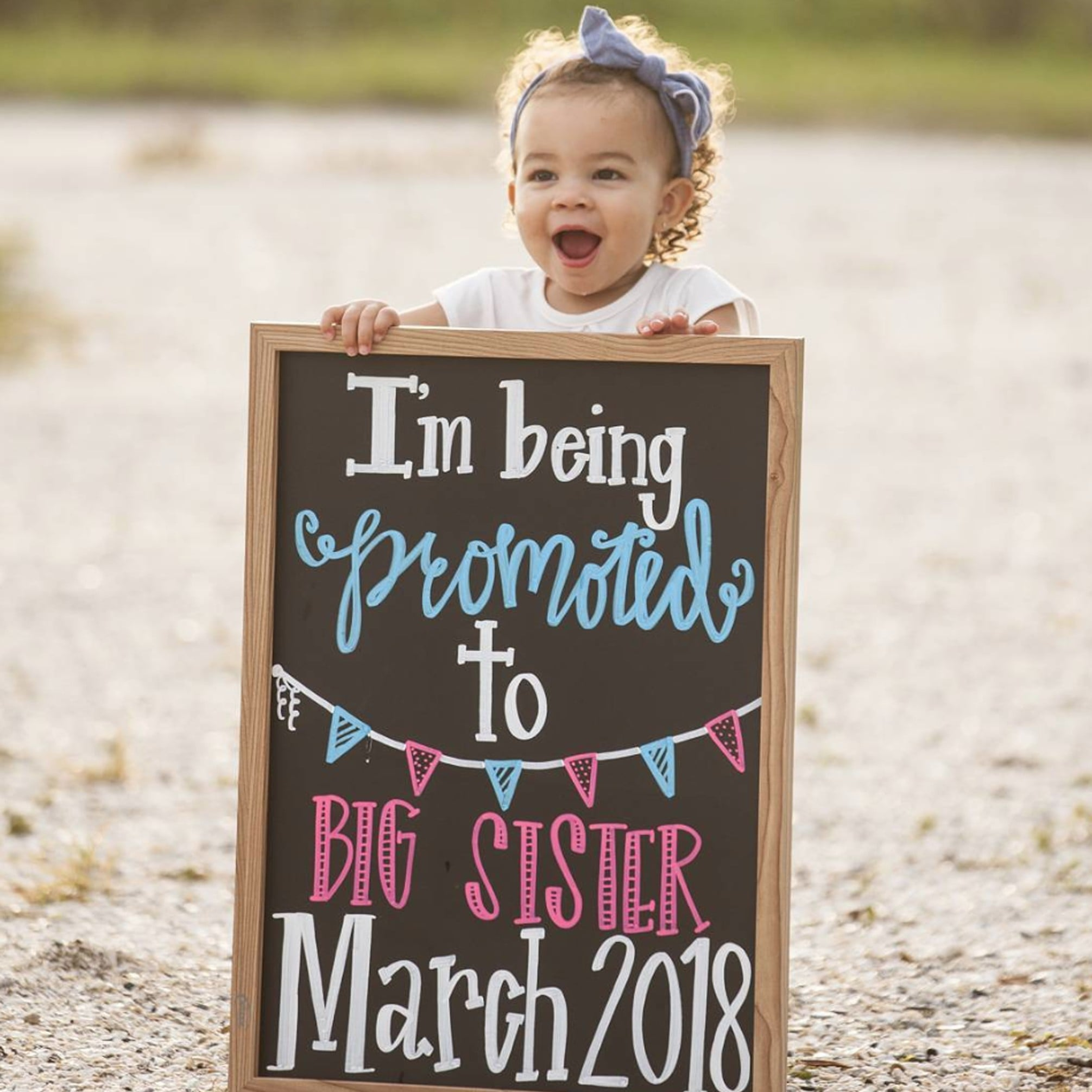 Pregnancy Announcements With Siblings | POPSUGAR Family