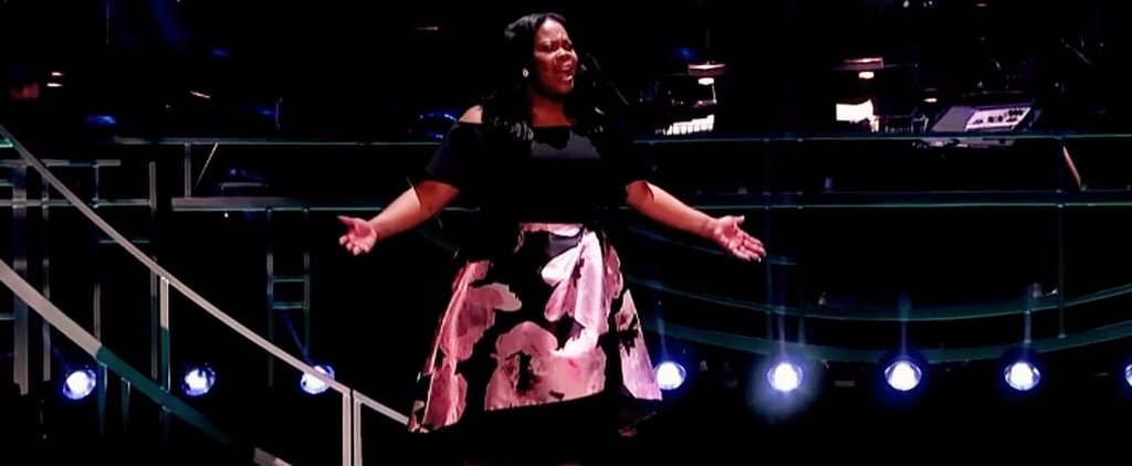 """Amber Riley Sings """"And I Am Telling You"""" Olivier Awards 2017"""