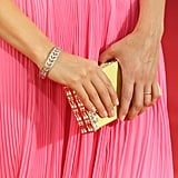 Did you notice Keri Russell's soft pleats and accessories?
