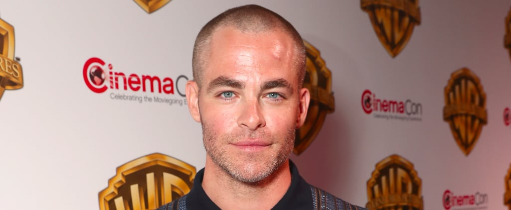 Chris Pine Cut Off All His Hair, and We're Kind of Crushed
