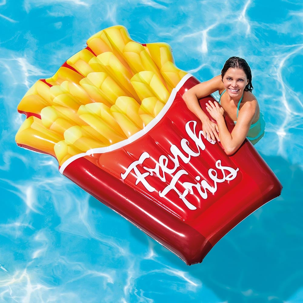 Intex Inflatable French Fries Pool Float Best Food Pool