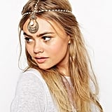 ASOS Chandelier Faux Pearl Hair Crown