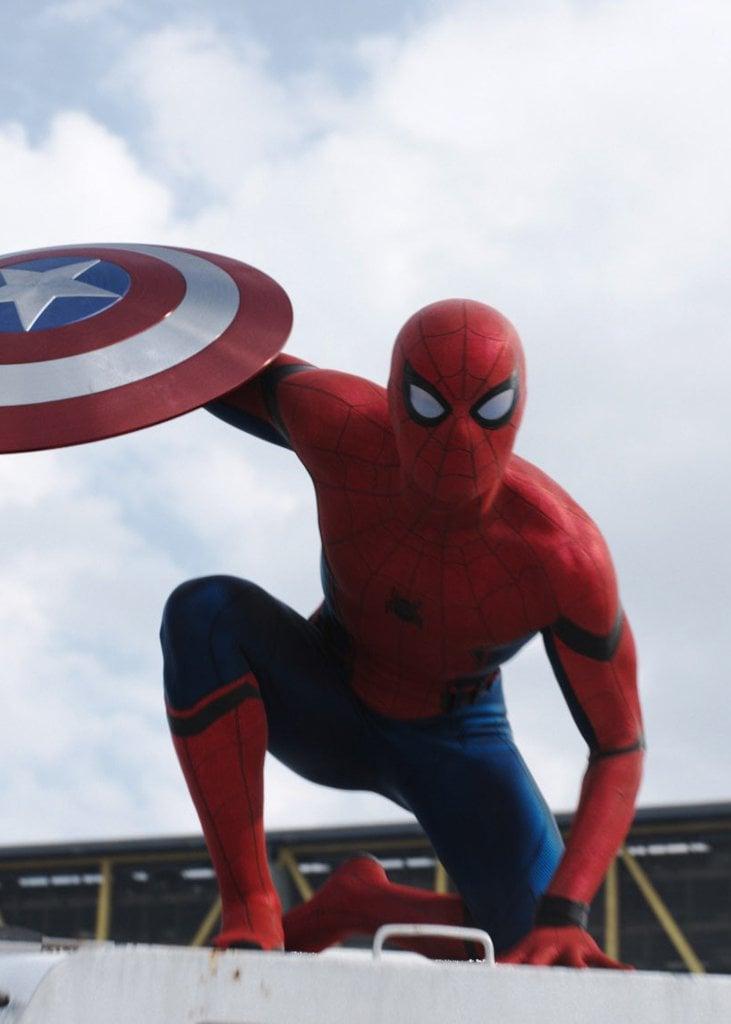 spider man from captain america civil war